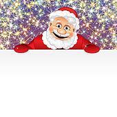 Happy Santa with Copyspace