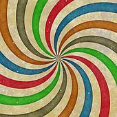 grungy swirl