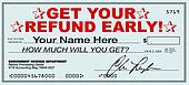 Get Your Tax Refund Early - File Now for Fast Return of Refunds