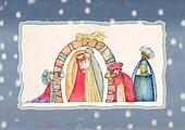Christmas Nativity and Three Kings.
