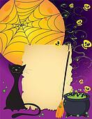 Halloween cute card