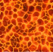 Illustrated Lava Background. Vector