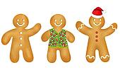 Gingerbread Mans Set