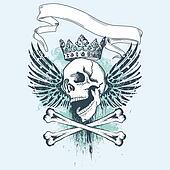 Grunge Pirate Design