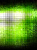 Green geometric tech background. Creative background.