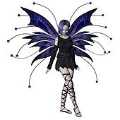 Winter Goth Fairy - 2