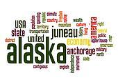 Alaska word cloud