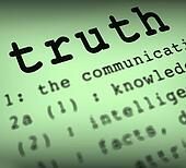 Truth Definition Means True Honesty Or Veracity