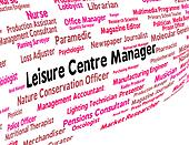 Leisure Centre Manager Represents Gyms Employment And Proprietor