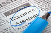 Executive Assistant Wanted.