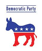 Democratic donkey party