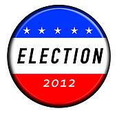 Election button badge 2012