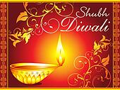 abstract diwali artistic wallpaper