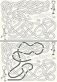 Hopscotch maze