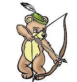 Bear archer