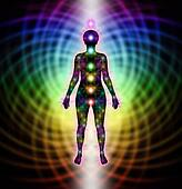 Energy Field and New Chakras