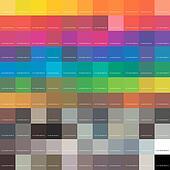 Color Tones Dynamic Transformations. Vector