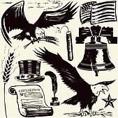 Woodcut Americana