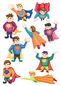 cartoon superman icons