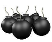 Many bomb