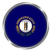 Button badge of kentucky