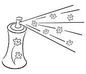 Deodorant symbol
