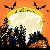 """Bats carry a tape labeled """"halloween"""""""