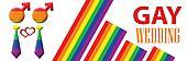 Gay Wedding Banner