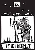Tarot Card Hermit