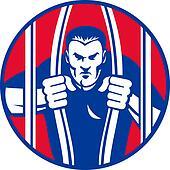 Convict prisoner escape bail out prison jail