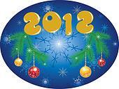 Christmas Background 2012