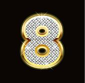 Bling number eight