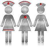 Nurse - Metallic Symbols