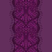 violet lace ribbon seamless