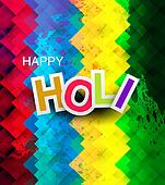 Beautiful texture colorful holi festival vector illustration
