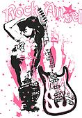 music rock woman