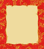 Gold Laurel Leaves Background Texture