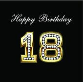 Happy Birthday 18