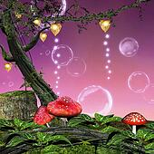 Enchanted mushrooms