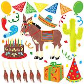 Mexican Fiesta Birthday Party