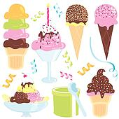 Ice Cream Party icons