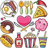 Food icons 1