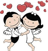 wedding or valentine card