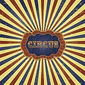 Vintage Circus Background Illustration