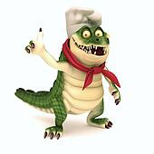 Chef croc thumb up