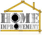 Home Improvement Symbol with Gears