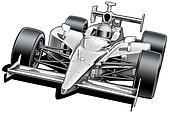 Formula Style Race Car