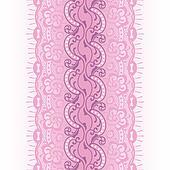 pink lace ribbon seamless