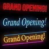 Neon Grand Opening