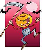 Halloween Pumpkin Head Jack
